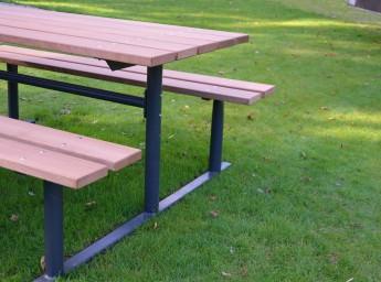 bord bænkesæt uden ryg