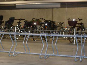 Jessing Park cykelstativ