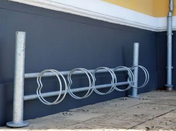 Flexi cykelstativ plads til 5 cykler