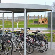 Cykelskure og overdækninger