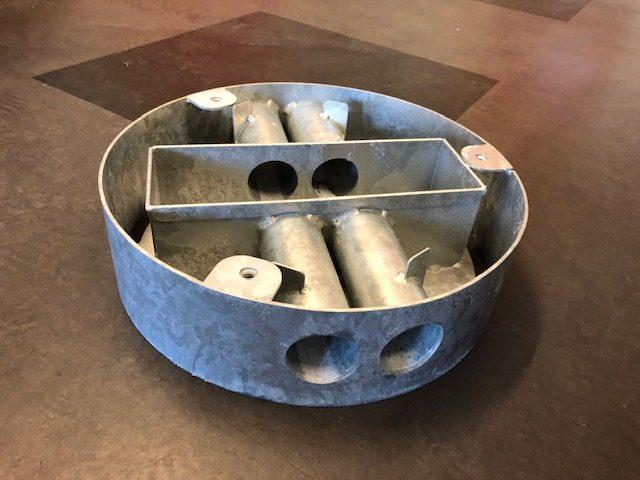 Jessing rottesokkel til affaldsbeholder